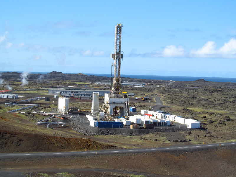 The IDDP2 well site at Reykjanes
